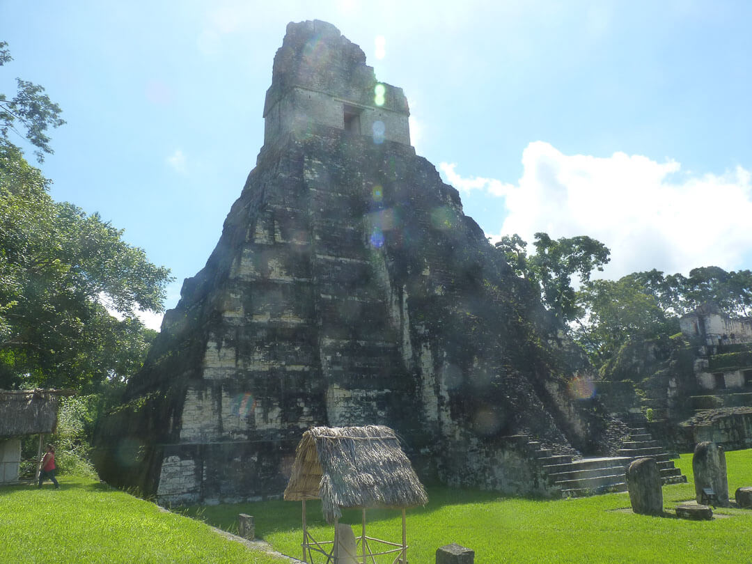 how to get to tikal from belize