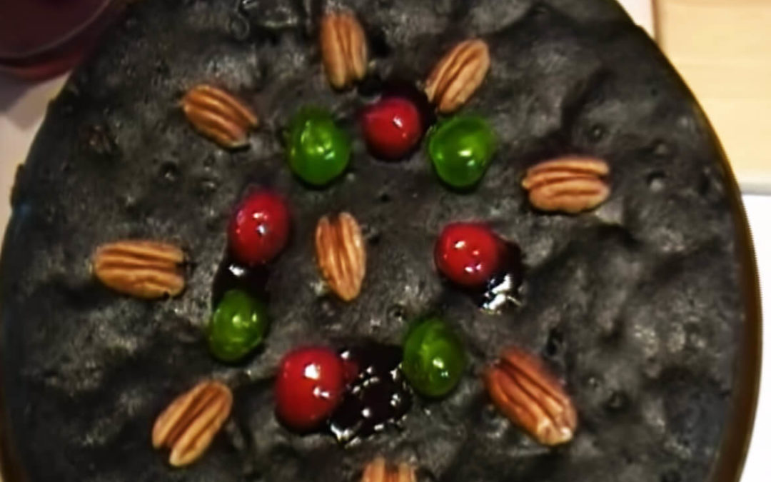Belizean Black Fruit Cake