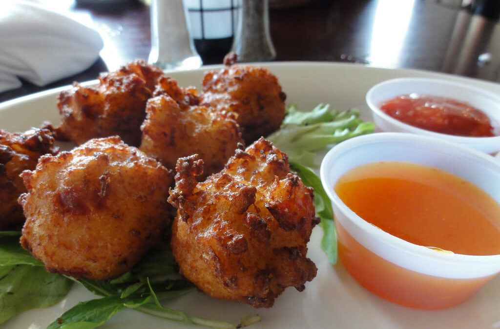 Belizean Conch Fritters